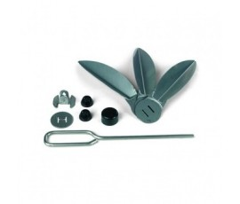 Kit sistema de limpieza One-Touch de acero inoxidable para barbarcoa Ø 47 cm