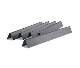 1 lote de 5 barra Flavorizer® de acero esmaltado para Génesis serie 300 2007-2011 (botones quemadores lateral)