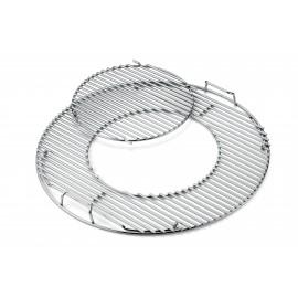 Parrilla de cocción Gourmet BBQ System de acero inoxidable para barbacoas Ø 57 cm