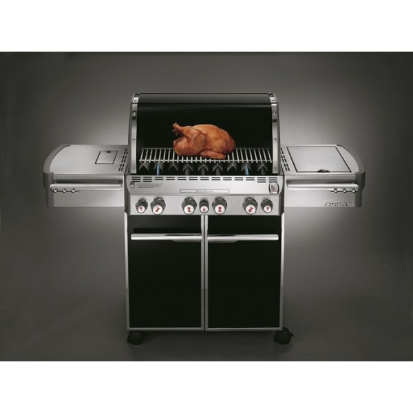 Barbacoa Weber® Summit E-470 GBS Black + FUNDA PREMIUM