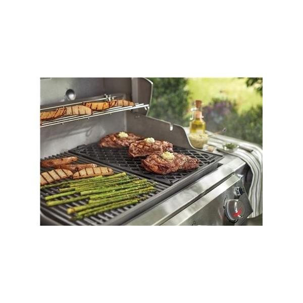 Parrilla para marcar la carne Weber® para Genesis II de 4 y 6 quemadores