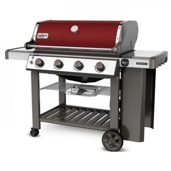 Barbacoa Weber® Genesis II E-410 GBS Crimson Red