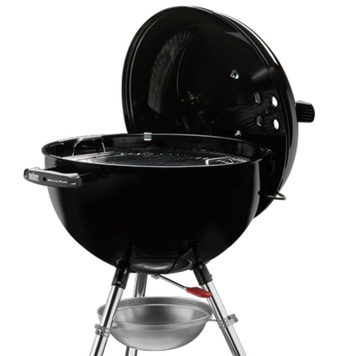 Barbacoa weber original kettle plus 47 cm black - Weber kettle plus ...