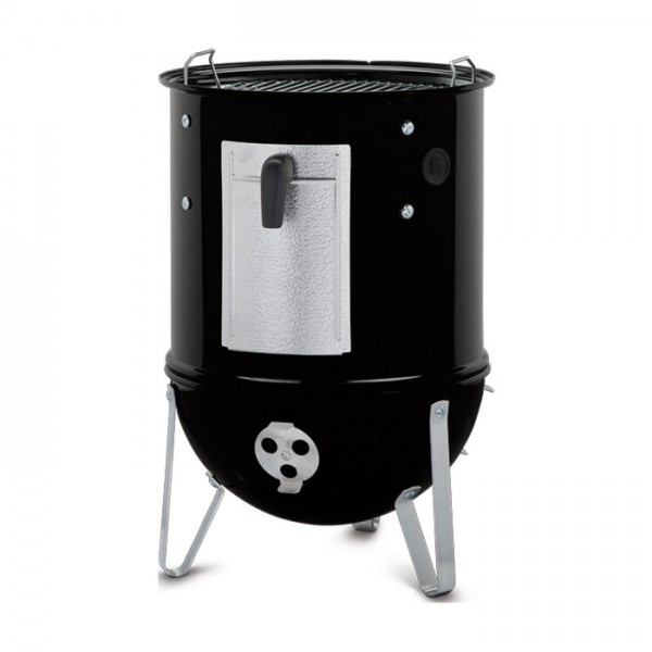 Ahumador Weber® Smokey Mountain Cooker Ø 37 cm Black + FUNDA PREMIUM