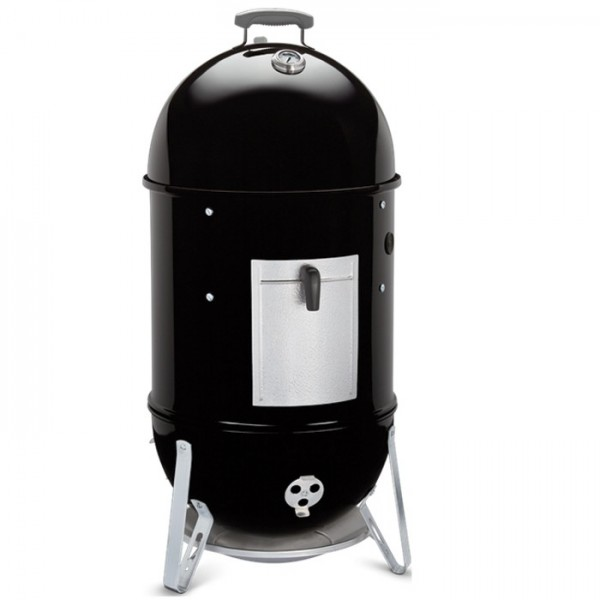Ahumador Weber® Smokey Mountain Cooker Ø 47 cm Black + FUNDA PREMIUM