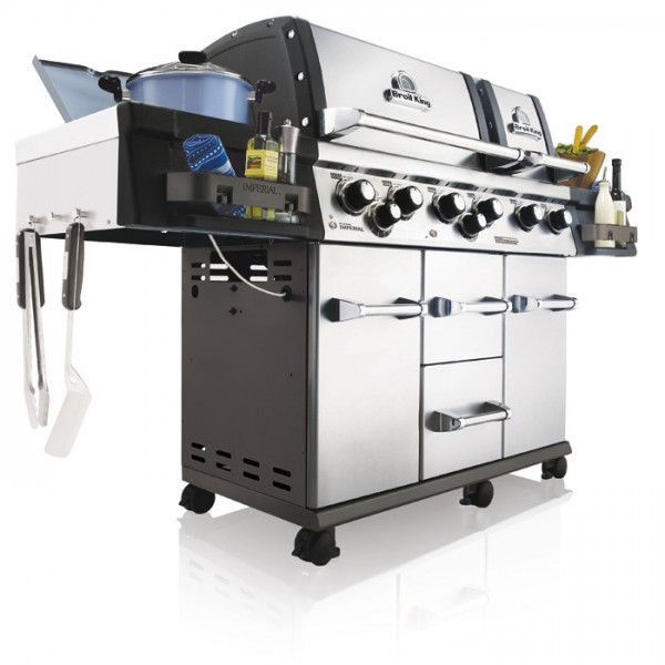 barbacoa de gas imperial inox