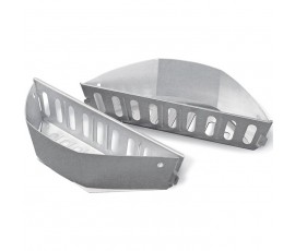 Cesta para carbón barbacoas de Ø 57 y 67 cm (2 unidades)
