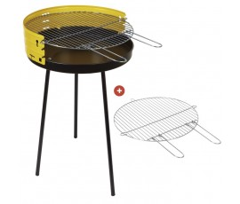 Barbacoa Sauvic® Ø 50 cm + 2 parrillas
