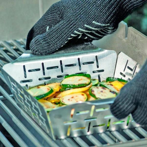 cesta para verduras weber