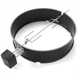 Asador giratorio Weber® para barbacoas de Ø 57 cm