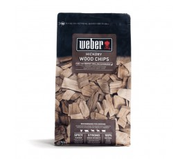 madera para ahumar weber hickory