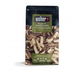 madera para ahumar weber mesquite