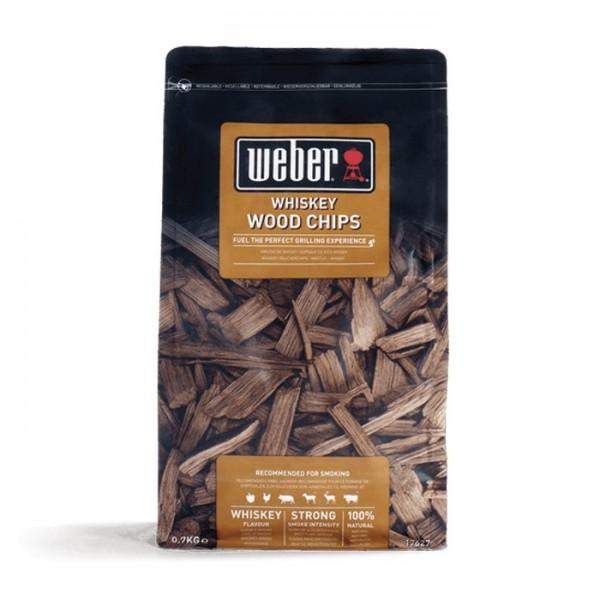 madera para ahumar weber whisky