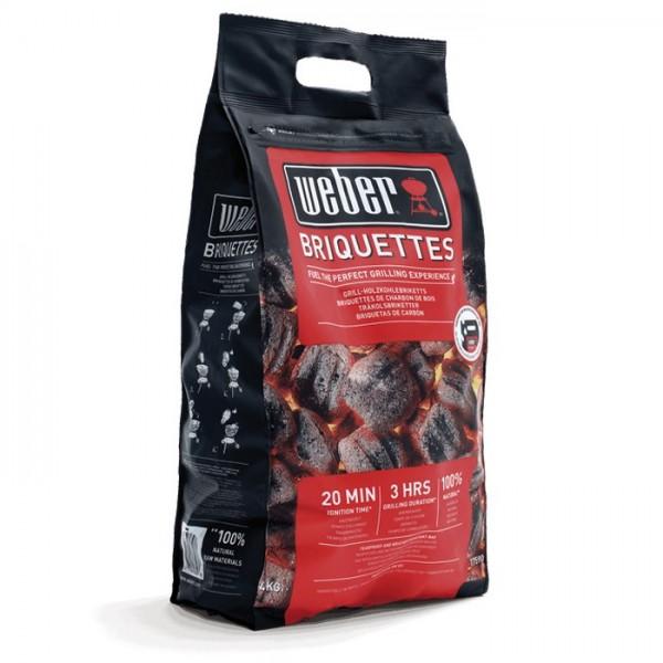 Saco de 4 Kg briquetas de carbón