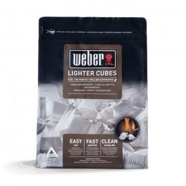 Pack de 22 pastillas de encendido blancas Weber