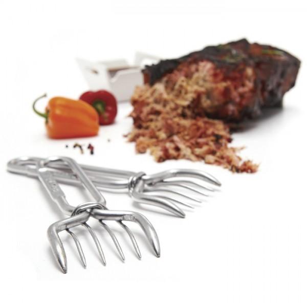 Garras para cortar carne de acero inoxidable