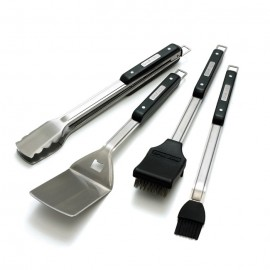 Set de 4 utensilios de acero inoxidable Broil King®