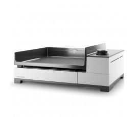 Plancha Forge Adour Premium G45 Acero Esmaltado Blanco