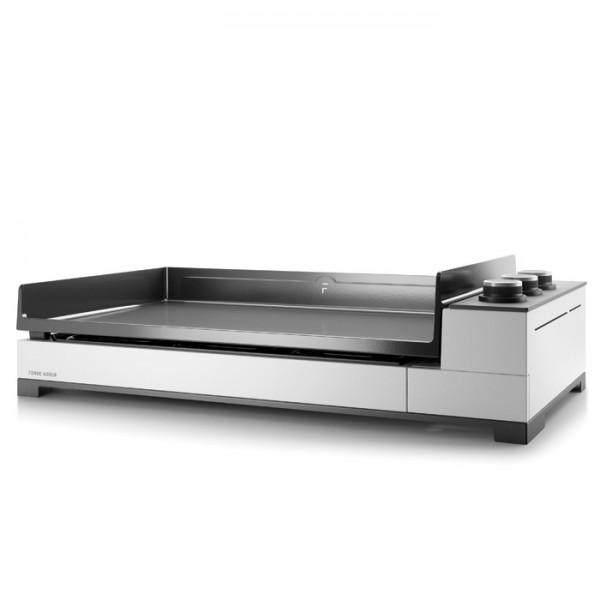 Plancha Forge Adour Premium G75 Acero Esmaltado Blanco