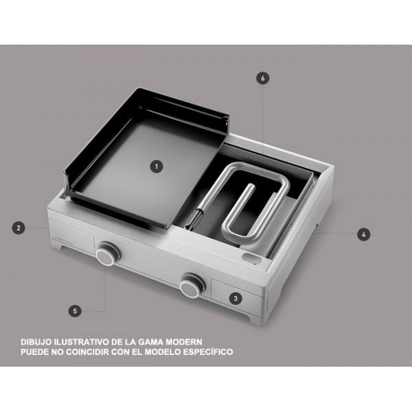 Plancha Forge Adour Modern G45 Acero Esmaltado