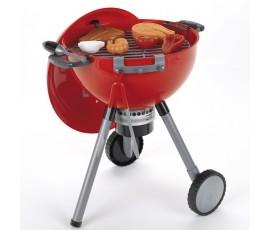 Mini barbacoa de juguete Weber kettle roja