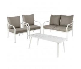 Conjunto Venice sofá + 2 butacas + mesa