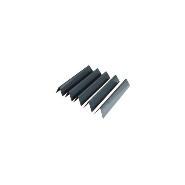Lote de 3 barras Flavorizer® de acero esmaltado para Spirit 210 (botones quemadores frontal)