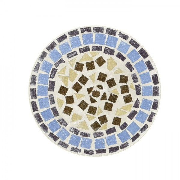 Mesita Nice con mosaico Ø30