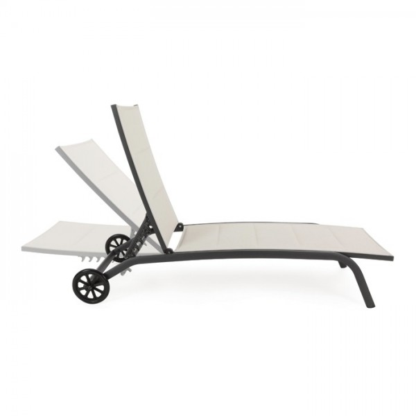 Tumbona Cleo con ruedas