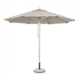 Parasol Venezia Ø3m, color gris pal