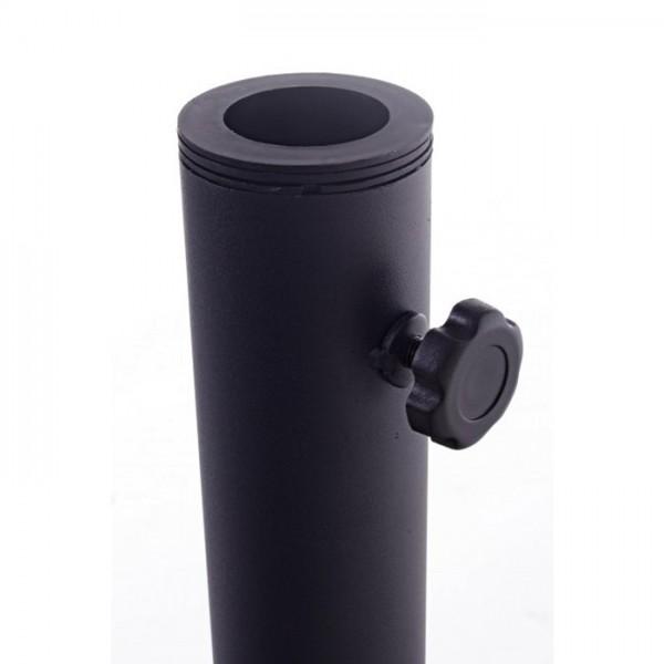 Base parasol Barry Red 30 Kg, color negro