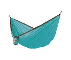 Hamaca de viaje individual Colibrí, color turquesa