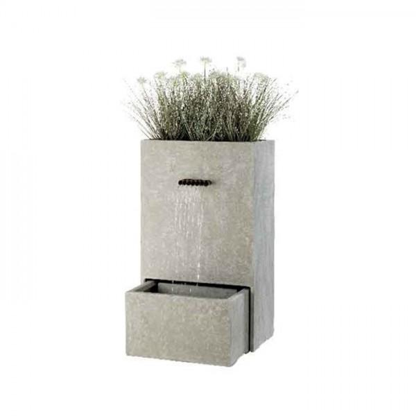 Fuente GRC con plantero
