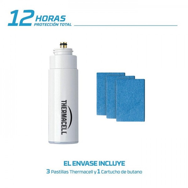 Recambio Thermacell 12 horas