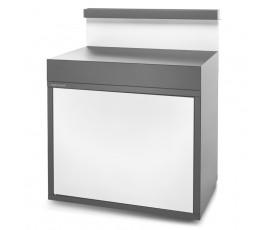 Soporte con fregadero SEAF GB gris antracita y blanco