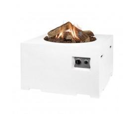 Mesa rectangular Happy Cooconing cuadrada blanco