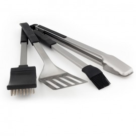 Set de 4 utensilios inox Baron Broil King®