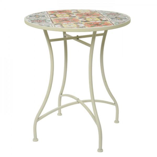 Conjunto Beaufort mesa Ø60cm + 2 sillas