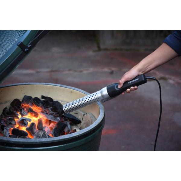 encender barbacoa carbon