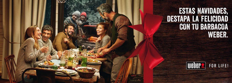 Junto a una Weber, la Navidad sabe mejor